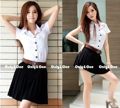 タイのぱっつん女子大生制服は日本でも購入可能!?