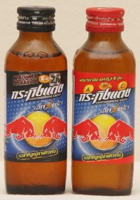タイの栄養ドリンク「Red Bull」を飲むと・・・