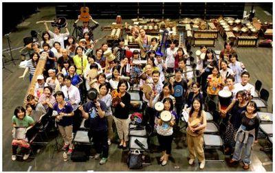 だじゃれとアジアの音楽が融合した「千住の1010人」が12日に開催