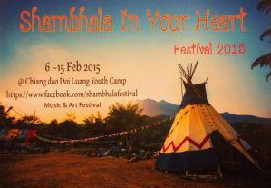 日本人主催の野外フェス「シャンバラ祭り」2月6日からチェンダオで開催