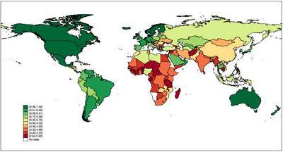 国連の幸福度ランキング2015