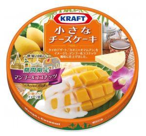 クラフト 小さなチーズケーキ ~世界の国から~ マンゴー&ココナッツ