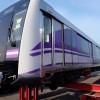 バンコク都市鉄道「パープルライン」の第1弾として初の日本製車両がタイ東部レムチャバン港に到着