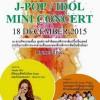 タイに移住した元グラビアアイドルとぽっちゃり系アイドルグループが18日イオン・シラチャ・ショッピングセンターでミニコンサート開催