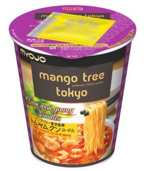 明星×マンゴツリー東京のBIGサイズカップめん「トムヤムクンヌードル」を25日新発売