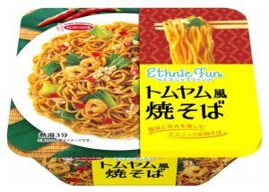 エースコックから「エスニックFUN トムヤム風焼そば」が29日に発売へ