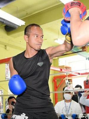 WBA世界フライ級王者・井岡一翔に挑むのはタイのノックノイ・シットプラサート